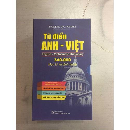 Từ Điển Anh Việt 340 000