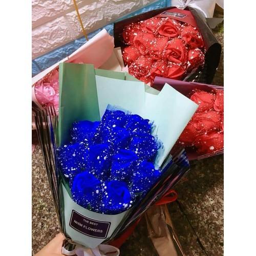 hoa giấy đẹp đủ mẫu từ 3 bông 7 bông 9 bông 11 bông và 15 bông