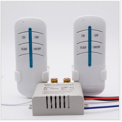 Công tắc điều khiển từ xa bằng sóng RF 1 cổng 2 Remote
