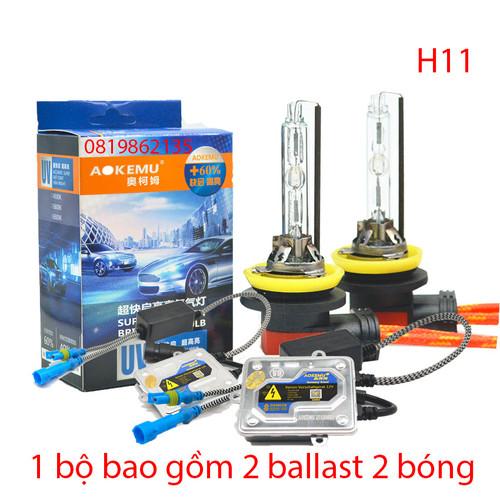 Bóng Xenon H11|Bóng Đèn Xenon H11 Tăng Sáng 12V 55W|Đèn Xenon ô tô