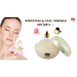 Kem làm trắng, chống lão hóa, phục hồi da hư tổn, SPF 50PA+++