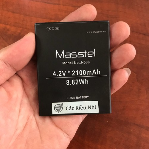 Pin Masstel N508 zin - 4647426 , 14092627 , 15_14092627 , 99000 , Pin-Masstel-N508-zin-15_14092627 , sendo.vn , Pin Masstel N508 zin
