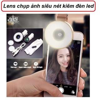 Lens chụp ảnh góc rộng và selfie có đèn 6 in 1 - Lens chụp ảnh thumbnail