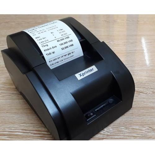 Máy In Hoá Đơn Xprinter 58IIH khổ giấy K58 - 7500261 , 14089860 , 15_14089860 , 590000 , May-In-Hoa-Don-Xprinter-58IIH-kho-giay-K58-15_14089860 , sendo.vn , Máy In Hoá Đơn Xprinter 58IIH khổ giấy K58