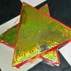 Combo 2 quả Pháo hoa điện xoay tam giác sáng lung linh chuyên phục vụ tổ chức sự kiện