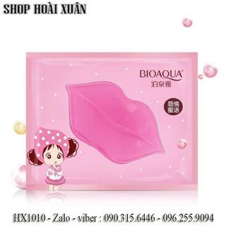 Combo 10 Mặt nạ môi BIOAQUA Collagen Nourish Lips Membrane Mask dưỡng mềm mịn làm hồng môi - HX1010 - HX1010 1