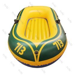 Thuyền phao Kayak 713 cho 2 người, thuyền bơm hơi đi câu cá gấp gọn tiện lợi, chất liệu cao cấp - POKI