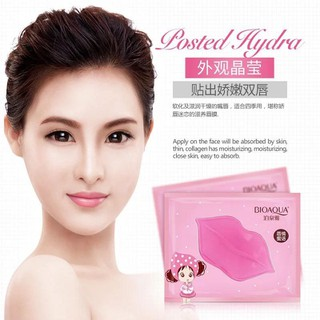 Combo 10 Mặt nạ môi BIOAQUA Collagen Nourish Lips Membrane Mask dưỡng mềm mịn làm hồng môi - HX1010 - HX1010 6