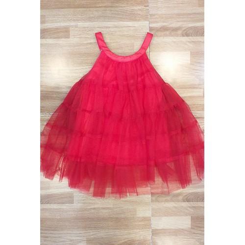 Đầm maxi 2 dây đỏ 002913