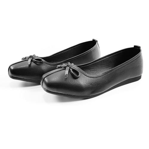 Giày Búp Bê Đẹp Giày Lười Nữ Siêu Mềm GB1872 - Đen