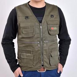 Áo ghi lê Lính Mỹ - áo ghi lê nam - áo Gile rằn ri