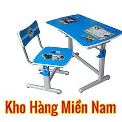 Bàn học sinh cho trẻ em nghiêng 3 cấp giá rẻ nội thất Hòa Phát BHS 20-03 màu xanh