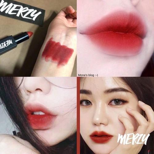 son môi chính hãng merzy  l4 đỏ gạch - 4513761 , 14130505 , 15_14130505 , 199000 , son-moi-chinh-hang-merzy-l4-do-gach-15_14130505 , sendo.vn , son môi chính hãng merzy  l4 đỏ gạch