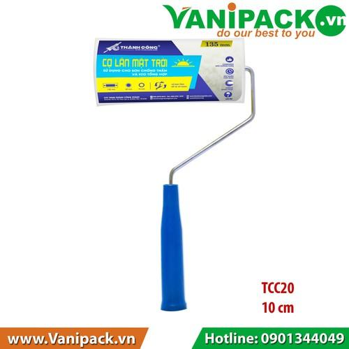 Cọ lăn MẶT TRỜI Sử dụng cho sơn chống thấm và keo tổng hợp 10cm Thành Công TCC20