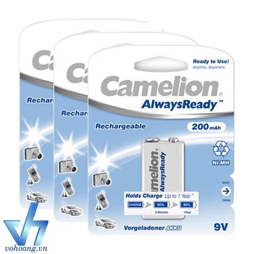 Bộ 3 pin sạc vuông Camelion AlwaysReady 9V - 7506659 , 14121799 , 15_14121799 , 275000 , Bo-3-pin-sac-vuong-Camelion-AlwaysReady-9V-15_14121799 , sendo.vn , Bộ 3 pin sạc vuông Camelion AlwaysReady 9V