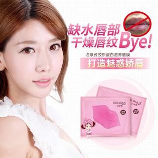 Combo 10 Mặt nạ môi BIOAQUA Collagen Nourish Lips Membrane Mask dưỡng mềm mịn làm hồng môi - HX1010 - HX1010 2