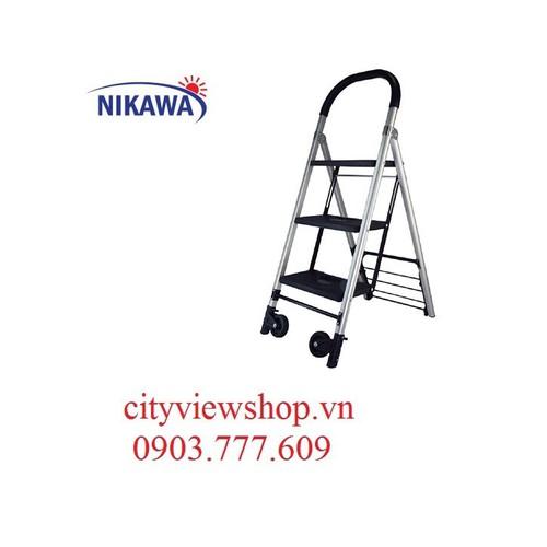 Thang nhôm đa năng  kèm xe đẩy hàng Nikawa NK-X3B - 10962885 , 14115249 , 15_14115249 , 1490000 , Thang-nhom-da-nang-kem-xe-day-hang-Nikawa-NK-X3B-15_14115249 , sendo.vn , Thang nhôm đa năng  kèm xe đẩy hàng Nikawa NK-X3B