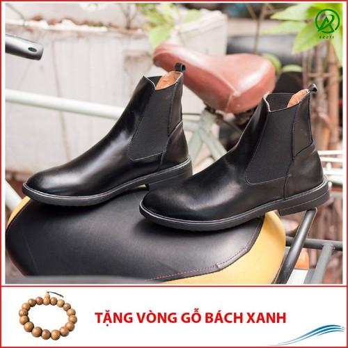 Chelsea boot cổ cao da bò màu đen CB540TL - 10968216 , 14127986 , 15_14127986 , 1140000 , Chelsea-boot-co-cao-da-bo-mau-den-CB540TL-15_14127986 , sendo.vn , Chelsea boot cổ cao da bò màu đen CB540TL