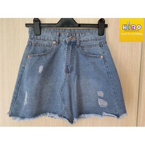 Chân váy bé gái chân váy jeans chân váy jean cho mẹ và bé 25-55kg - 7506957 , 14123924 , 15_14123924 , 239000 , Chan-vay-be-gai-chan-vay-jeans-chan-vay-jean-cho-me-va-be-25-55kg-15_14123924 , sendo.vn , Chân váy bé gái chân váy jeans chân váy jean cho mẹ và bé 25-55kg