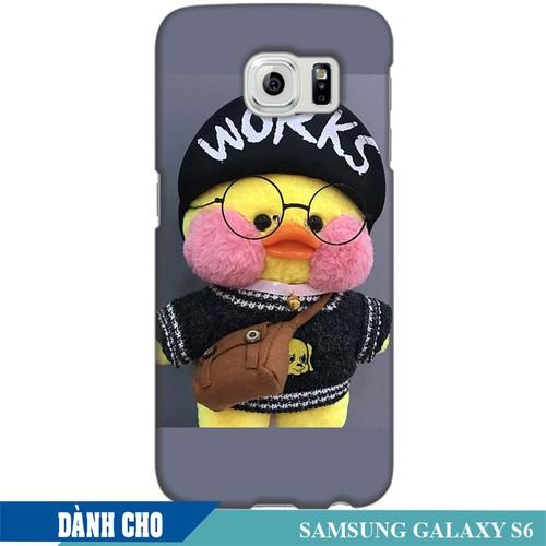 Ốp Lưng Nhựa Dẻo Dành Cho Samsung Galaxy S6 In Vịt Con Dễ Thương Mẫu 3