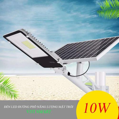 Đèn led đường phố sử dụng năng lượng mặt trời có cảm biến sáng VITI SMART công suất 10W