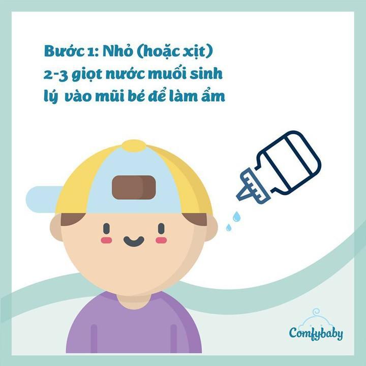 Máy Hút Mũi Cho Bé ComfyBaby - máy hút mũi trẻ em 4