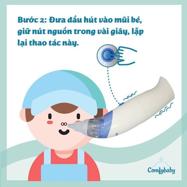 Máy Hút Mũi Cho Bé ComfyBaby - máy hút mũi trẻ em 5