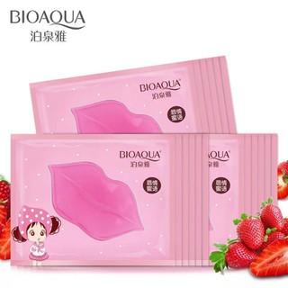 Combo 10 Mặt nạ môi BIOAQUA Collagen Nourish Lips Membrane Mask dưỡng mềm mịn làm hồng môi - HX1010 - HX1010 5