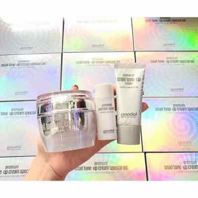 Set Ốc Sên Goodal Premium Snail Tone Up 3