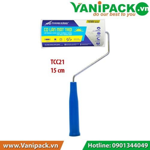 Cọ lăn MẶT TRỜI Sử dụng cho sơn chống thấm và keo tổng hợp 15cm Thành Công TCC21