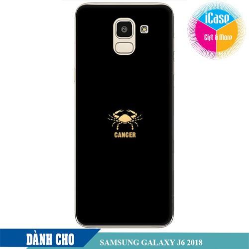 Ốp lưng nhựa dẻo dành cho Samsung Galaxy J6 2018 in hình Cung Cự Giải