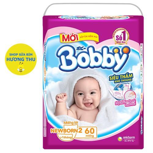 Miếng lót Bobby Newborn 2 loại 60 miếng dành cho bé trên 1 tháng tuổi tặng 6 miếng tã quần size M - 11216774 , 14120676 , 15_14120676 , 115000 , Mieng-lot-Bobby-Newborn-2-loai-60-mieng-danh-cho-be-tren-1-thang-tuoi-tang-6-mieng-ta-quan-size-M-15_14120676 , sendo.vn , Miếng lót Bobby Newborn 2 loại 60 miếng dành cho bé trên 1 tháng tuổi tặng 6 miếng