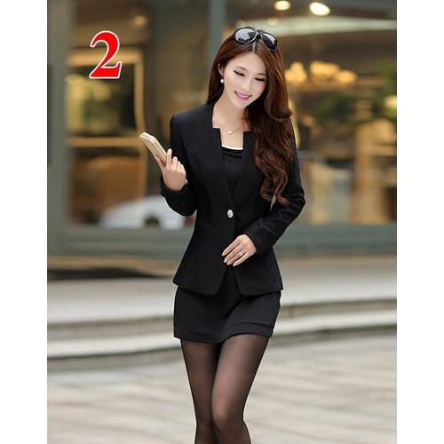 áo khoác vest đen
