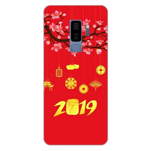 Ốp lưng điện thoại samsung galaxy s9 plus - Hello 2019 mẫu 4