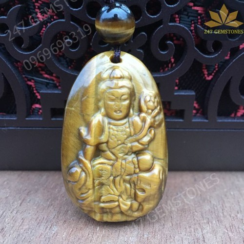 Phật Bản Mệnh Phổ Hiền Bồ Tát Mắt Hổ-Tặng Dây Đeo