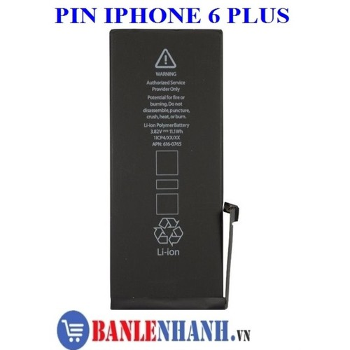 PIN IPHONE 6 PLUS ZIN MÁY