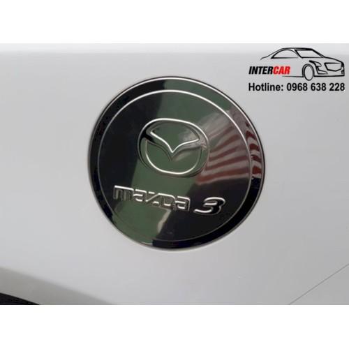 Ốp nắp bình xăng Mazda 3 2017