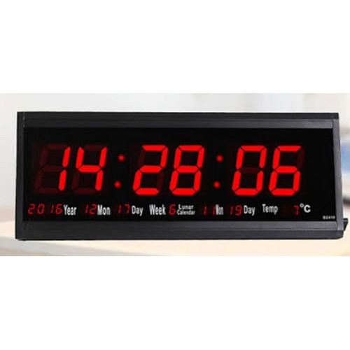Đồng hồ treo tường led lịch vạn niên - Lịch âm - Nhiệt độ