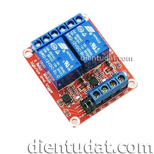 Module 2 Relay Kích High-Low 12VDC - 10972908 , 14138789 , 15_14138789 , 40000 , Module-2-Relay-Kich-High-Low-12VDC-15_14138789 , sendo.vn , Module 2 Relay Kích High-Low 12VDC