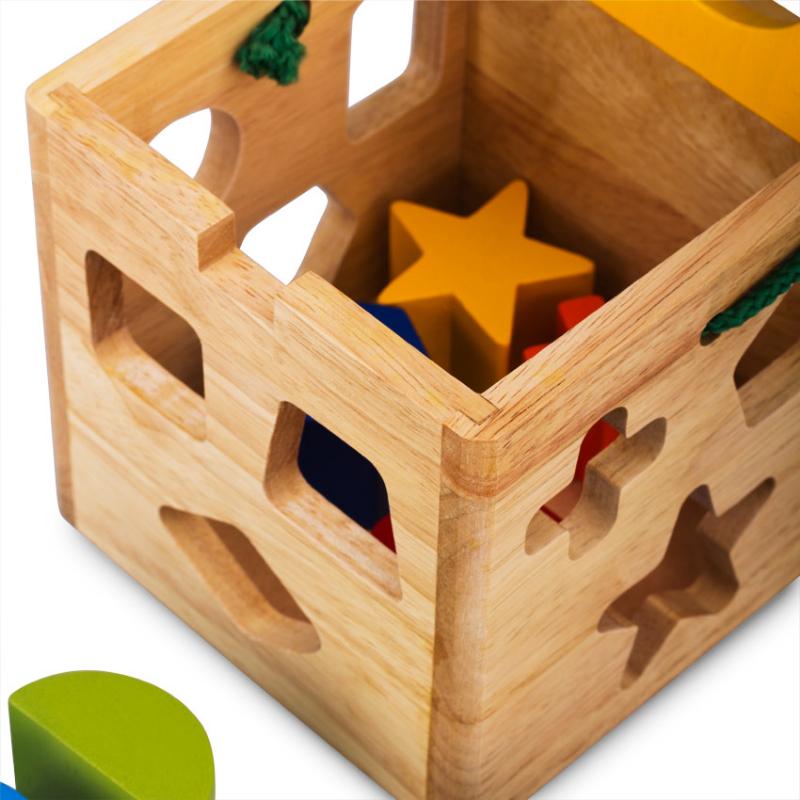 Giỏ thả 12 khối đồ chơi cho bé
