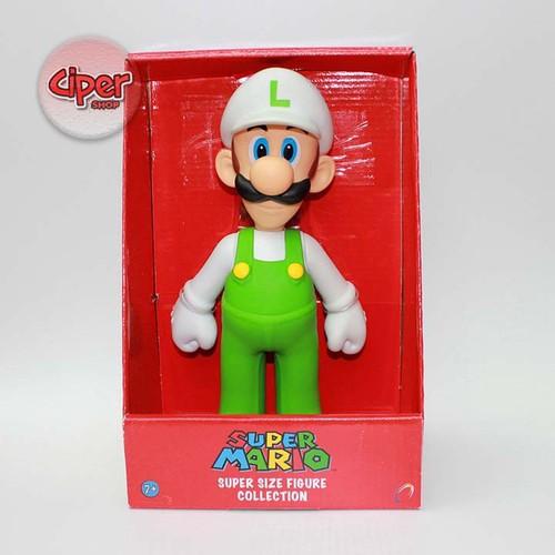 Mô hình Luigi Mũ Trắng - Mô hình Mario