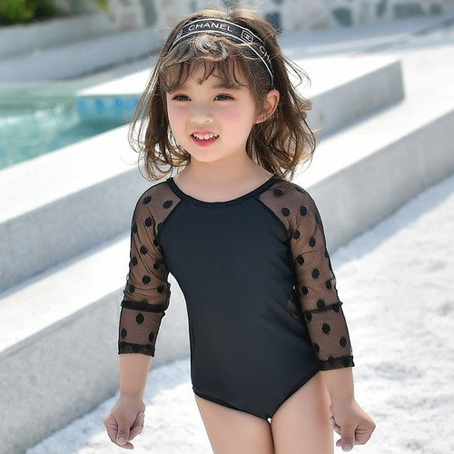 Đồ bơi bé gái tay dài rất dễ thương