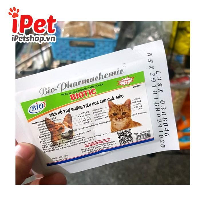 Men Hỗ Trợ Tiêu Hóa Cho Thú Cưng Chó Mèo - iPet 2