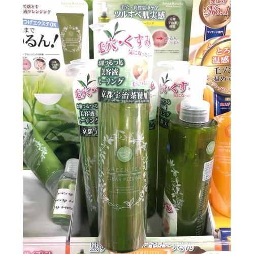 Gel tẩy trang trà xanh Santa Marche Green tea deep cleansing
