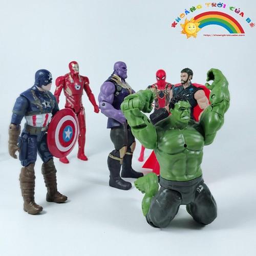 Mô Hình Avengers: Cuộc Chiến Vô Cực