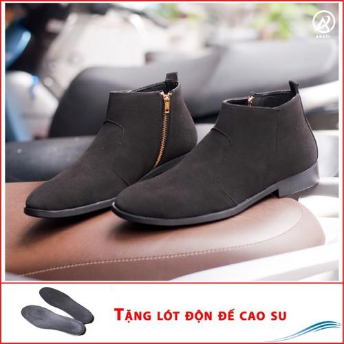 Giày chealsea boot nam kéo khóa đen buck CB521-DENBUCK-DD - 10977127 , 14148666 , 15_14148666 , 500000 , Giay-chealsea-boot-nam-keo-khoa-den-buck-CB521-DENBUCK-DD-15_14148666 , sendo.vn , Giày chealsea boot nam kéo khóa đen buck CB521-DENBUCK-DD
