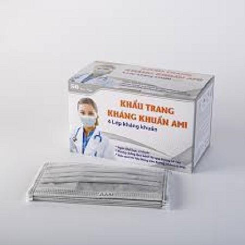khẩu trang giấy màu xám 4 lớp hộp 50 cái - 10975472 , 14144879 , 15_14144879 , 55000 , khau-trang-giay-mau-xam-4-lop-hop-50-cai-15_14144879 , sendo.vn , khẩu trang giấy màu xám 4 lớp hộp 50 cái