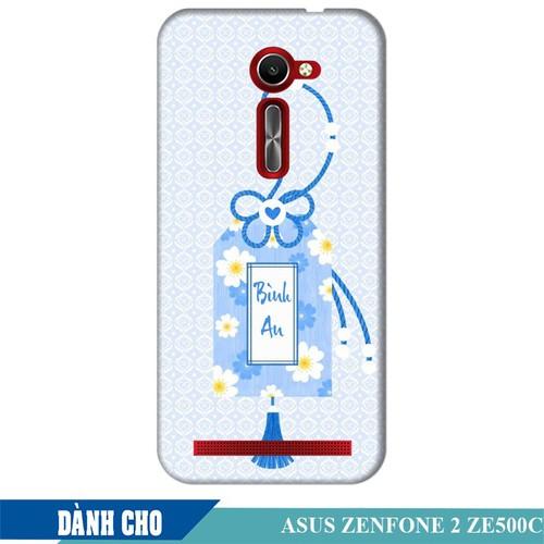 Ốp lưng nhựa dẻo dành cho Asus Zenfone 2 ZE500CL in Thẻ Bài Bình An
