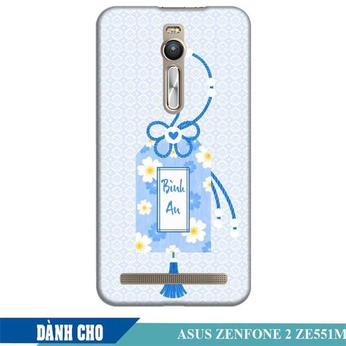 Ốp lưng nhựa dẻo dành cho Asus Zenfone 2 ZE550ML in Thẻ Bài Bình An