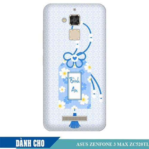 Ốp lưng nhựa dẻo dành cho ASUS ZenFone 3 Max ZC520TL in Thẻ Bài Bình An